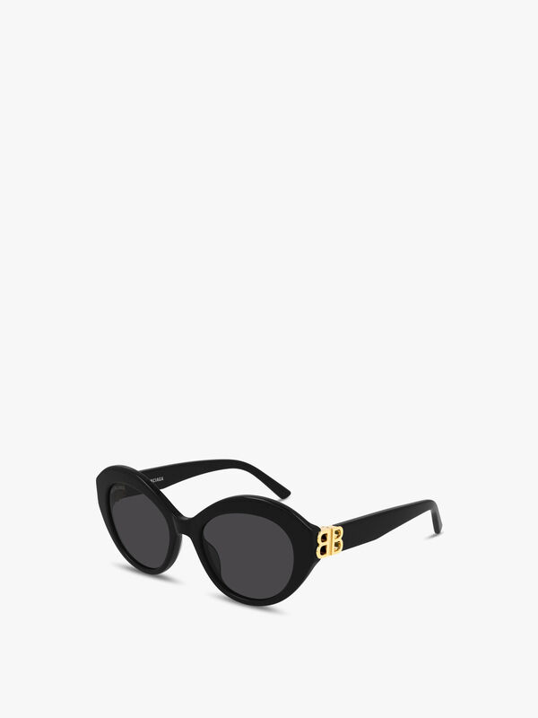 Geometric Butterfly Acetate Sunglasses