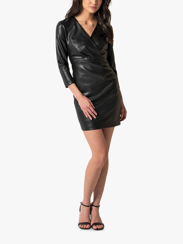 Tabitha PU Mini Dress