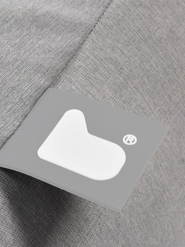 Luxury B Bag Grey