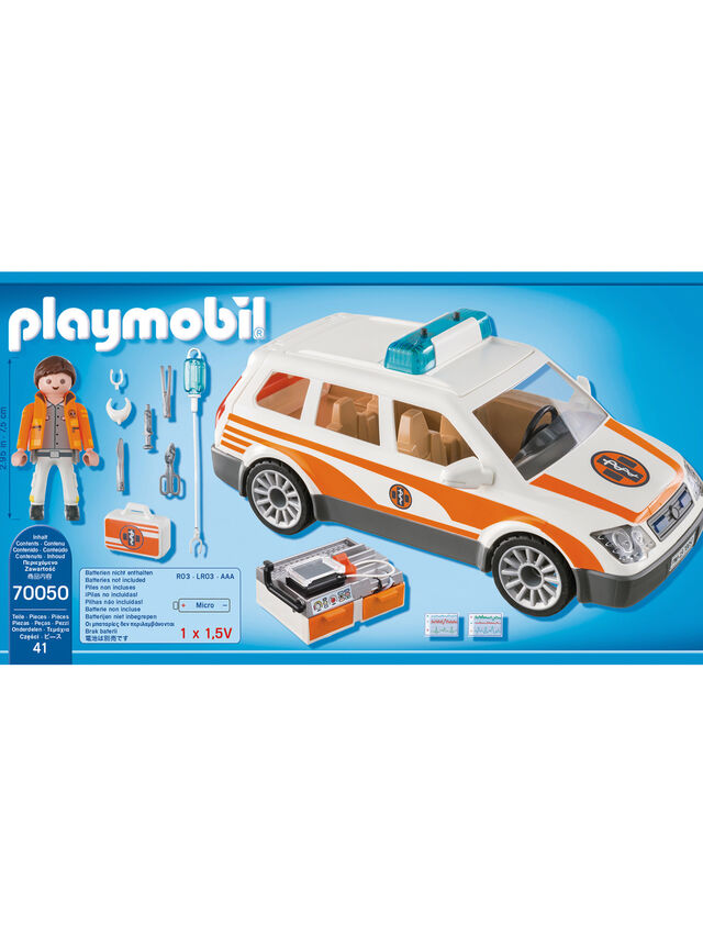 City Life Emergency Car With Siren