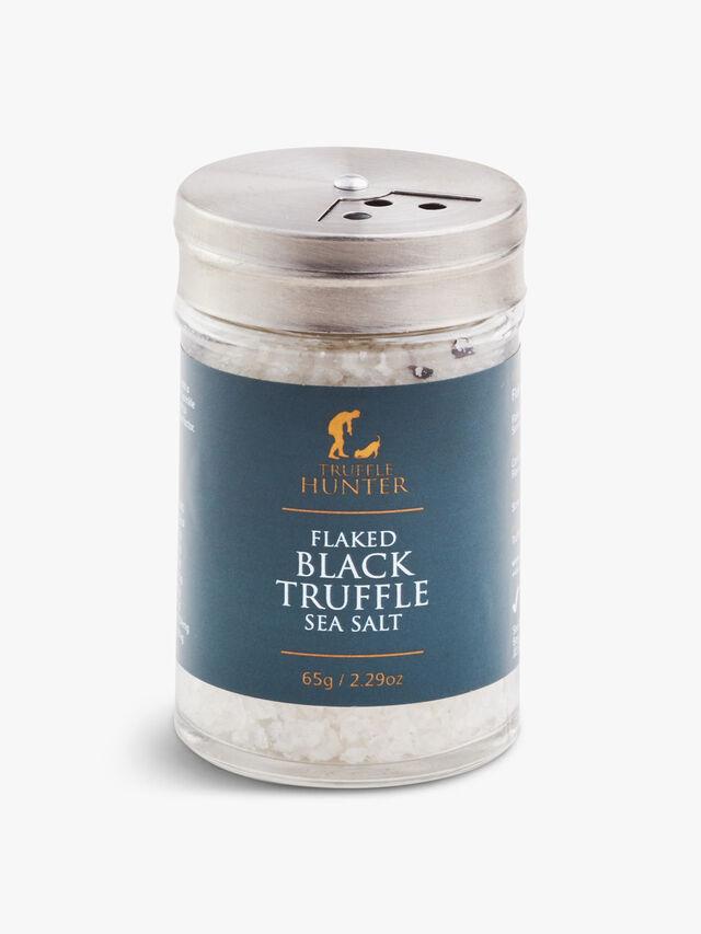 Flaked Black Truffle Sea Salt 40g