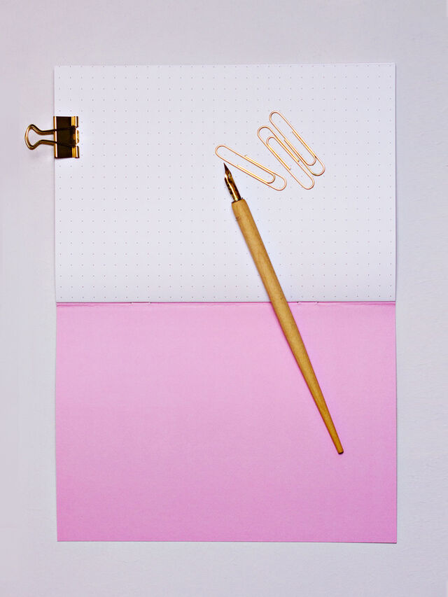 A5 Pink Animal Notebook