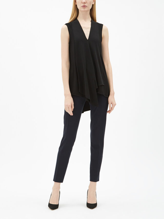 Vee Longline Asymmetrical Top
