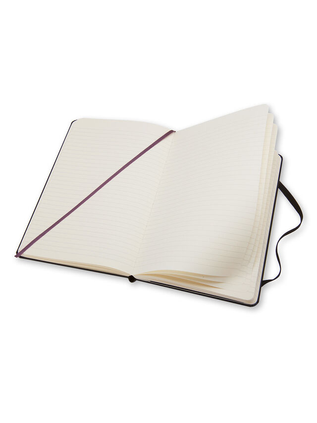 Large Notebook  Ruled Hard Cover