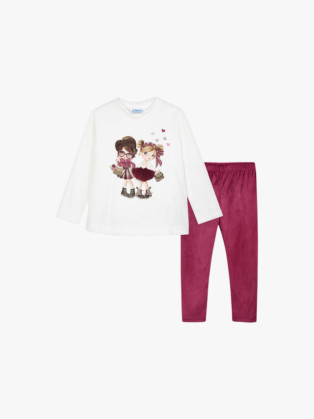Velvet Leggings Multi Set