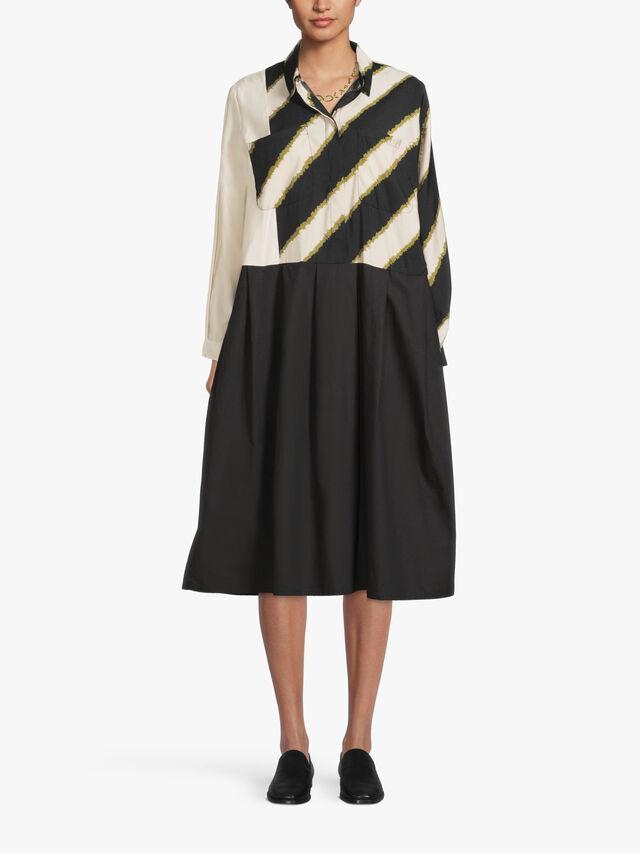 Nugana Print Mix Twill Dress