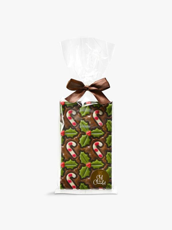 Candy Cane Chocolate Bar 150g