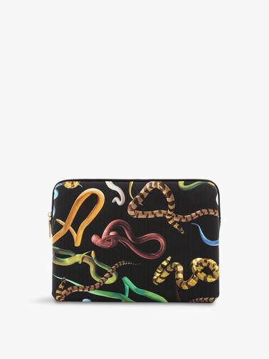 Toiletpaper Snakes Laptop Bag
