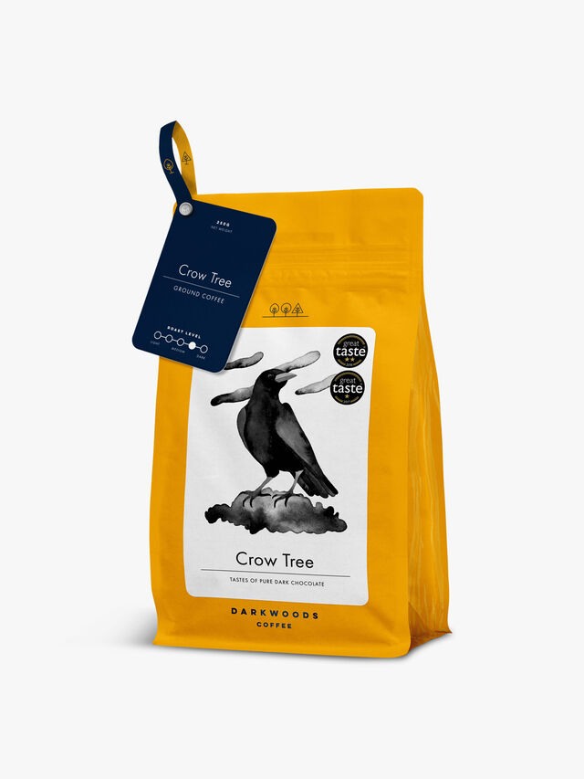 Crow Tree Dark Roast Ground 250g