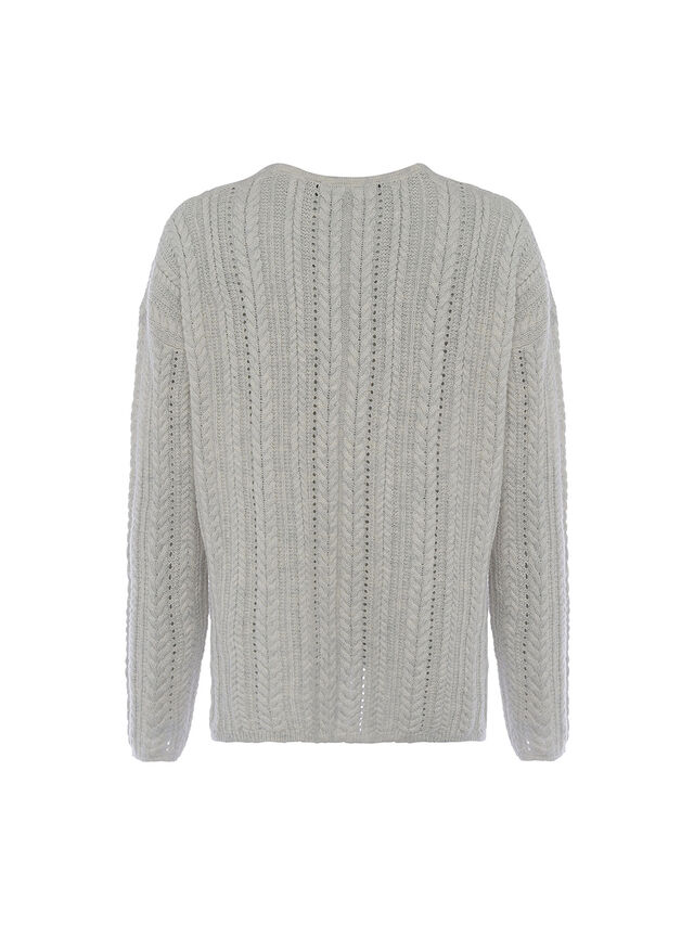 Lettie Recycled Cable Knit Jumper