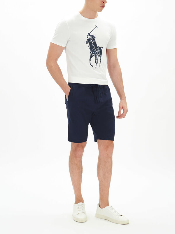 Cotton Mesh Jersey Shorts
