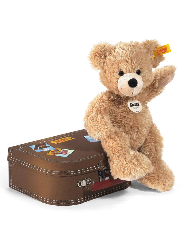 Fynn Teddy Ber In Suitcase