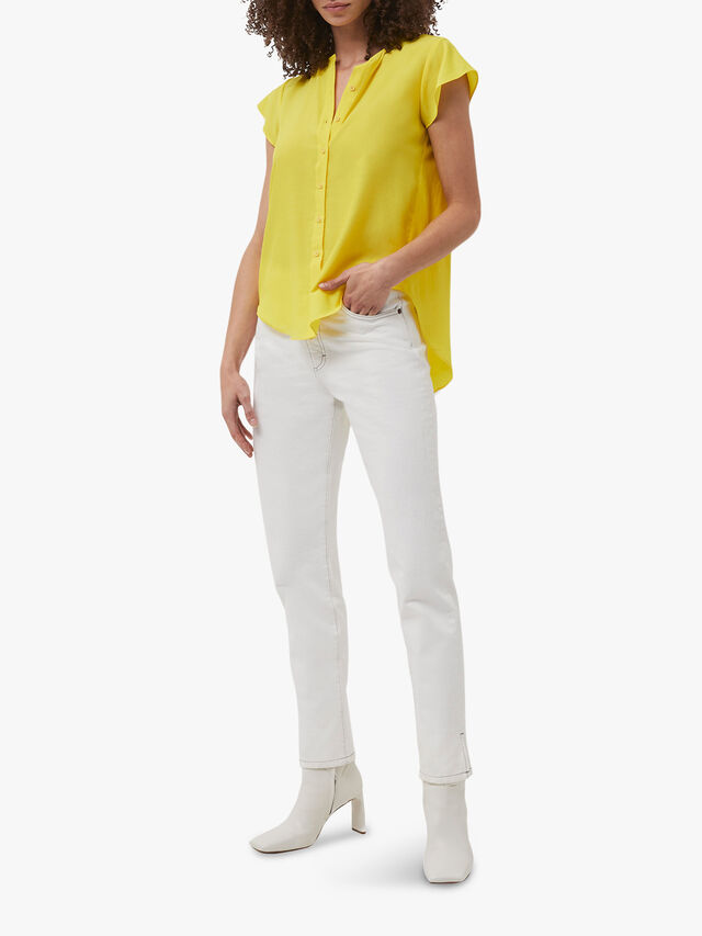 Ery Crepe Sleeveless Shirt