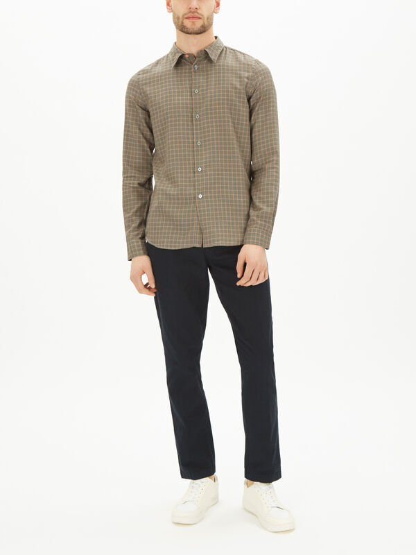 Tailored Checked Shirt