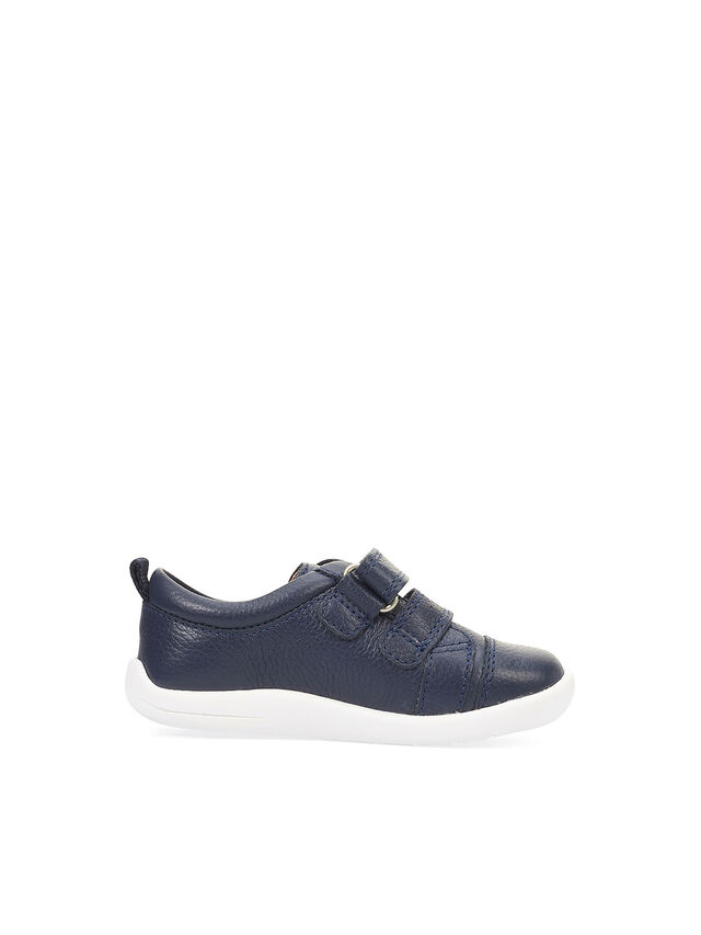 Tree House Navy Leather First Shoes