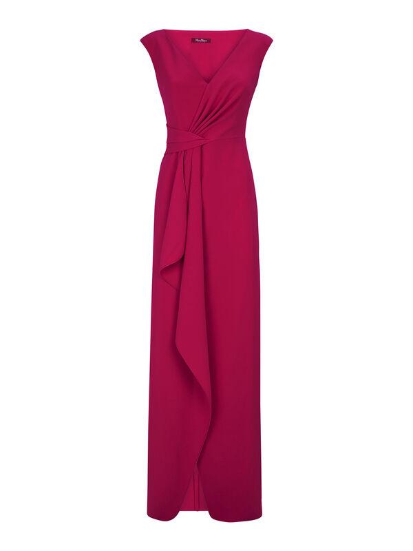 Nice Ruffle Front Long Dress