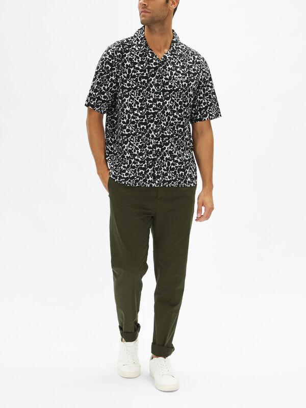 Cuban Flower Shirt