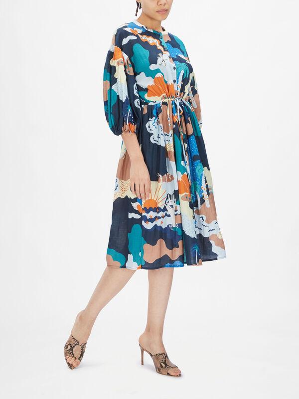 India Shirt Dress
