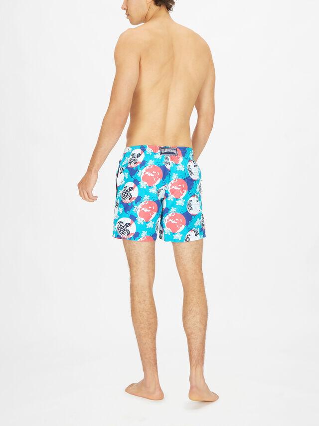 Mappemonde Dots Printed Swim Shorts