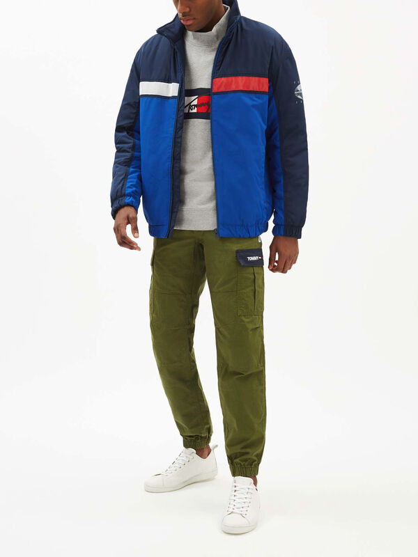 Colourblock Reflective Jacket
