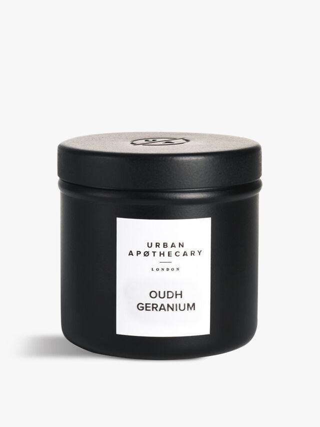 OudhGeraniumLuxury Travel Candle