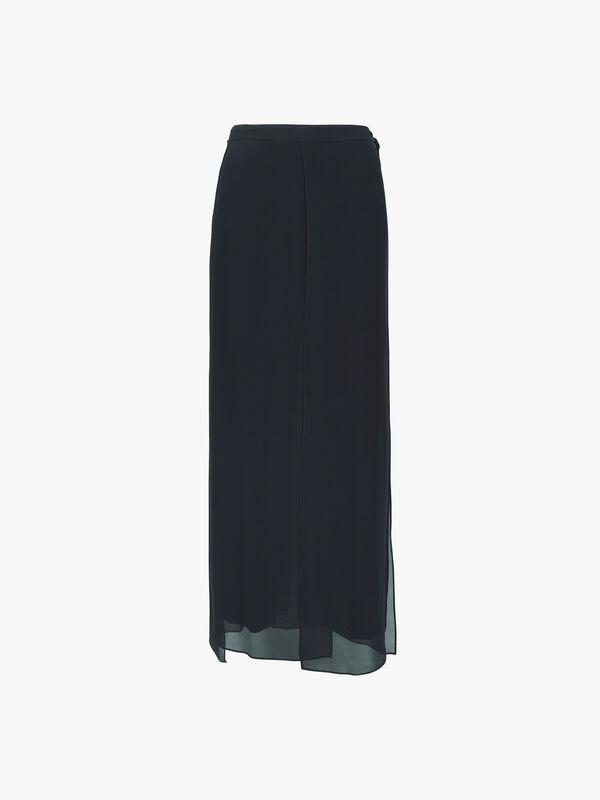 Eva Fluid Crepe Wide Leg Pants