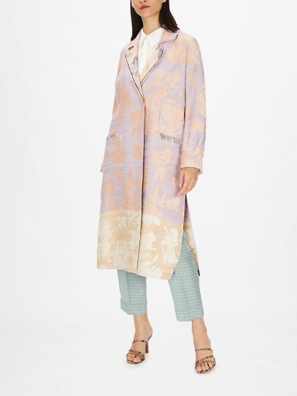 Bloom Jacquard Coat