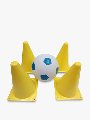 Soccer Ball & Cones