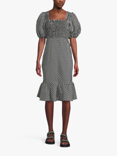 Seersucker-Check-Square-Neck-Dress-F6008