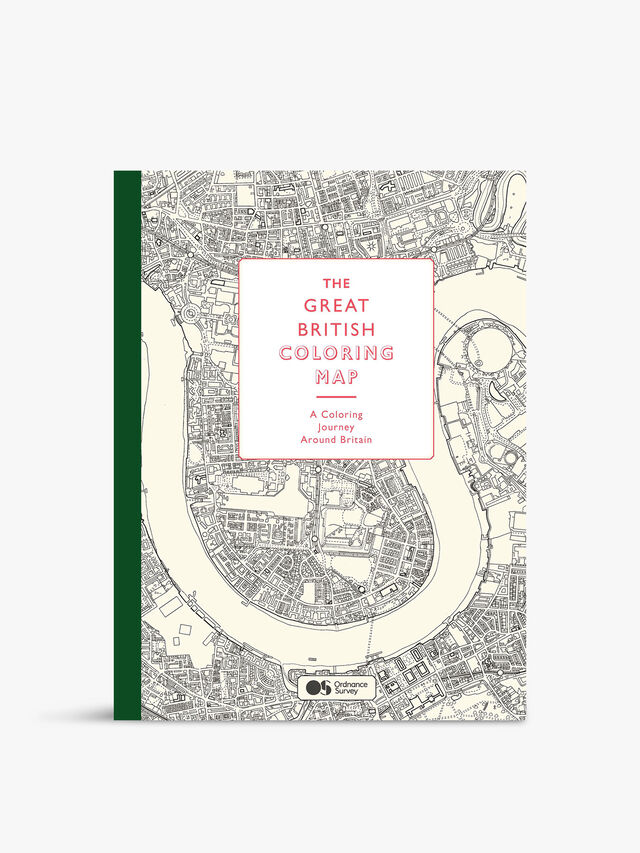 British Map Colouring Book