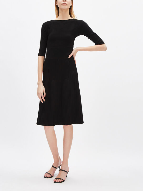 Certosa Ribbed Midi Dress