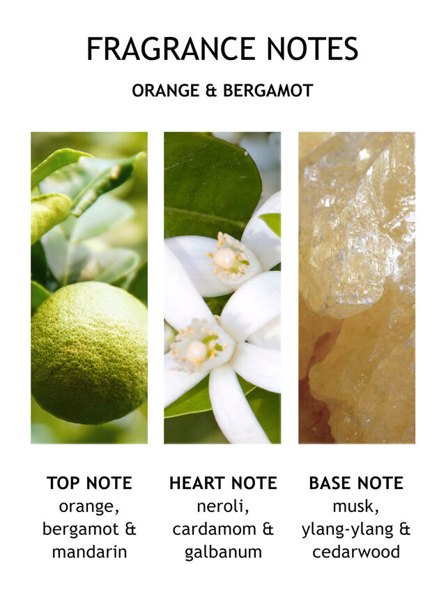 Orange & Bergamot Eau de Toilette 50 ml