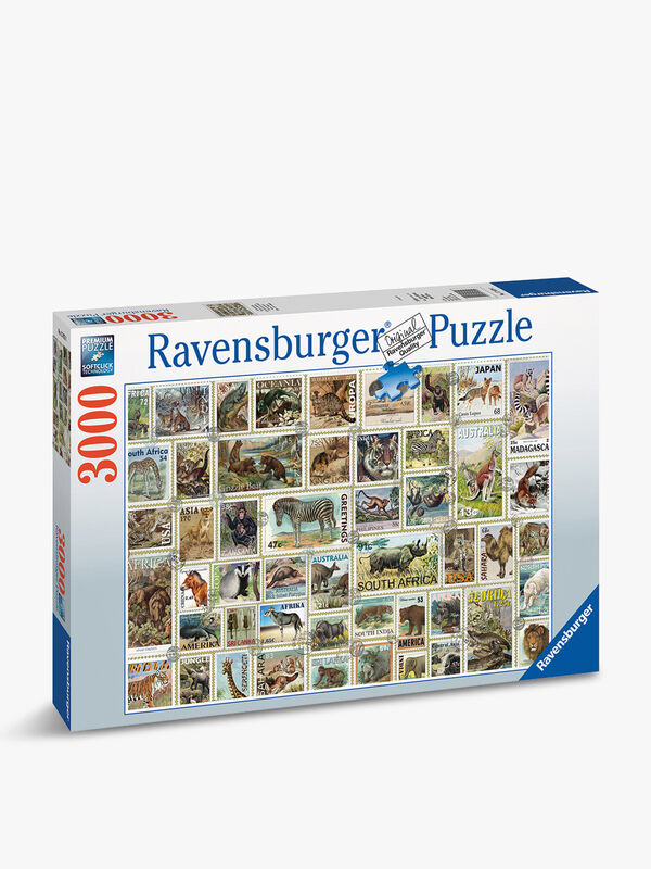 Animal Stamps Puzzle 3000pc