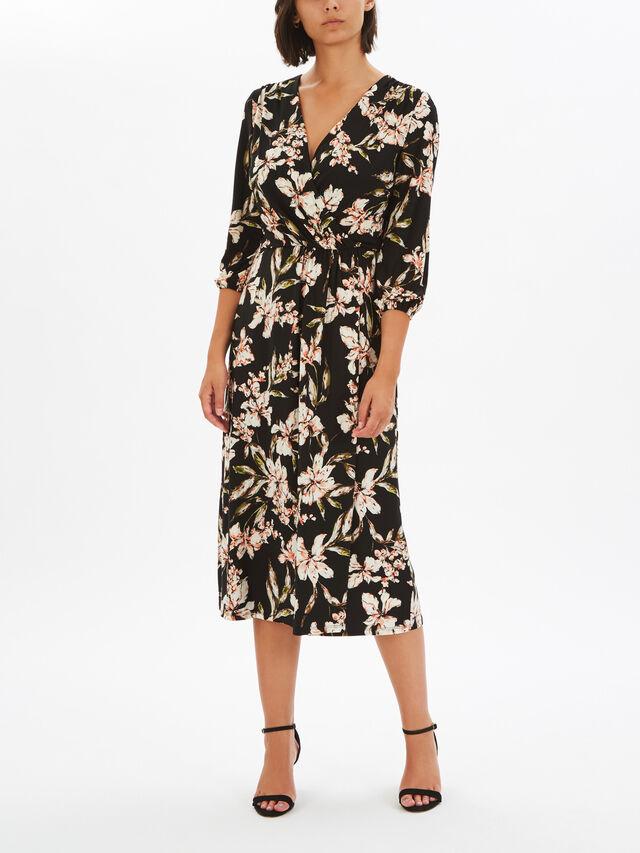 Vashendria Long Sleeve Day Dress