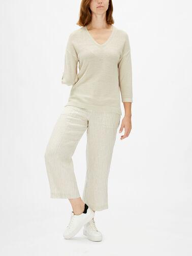 Linen-Mix-Vee-Neck-3-4-sl-Knit-0001175313