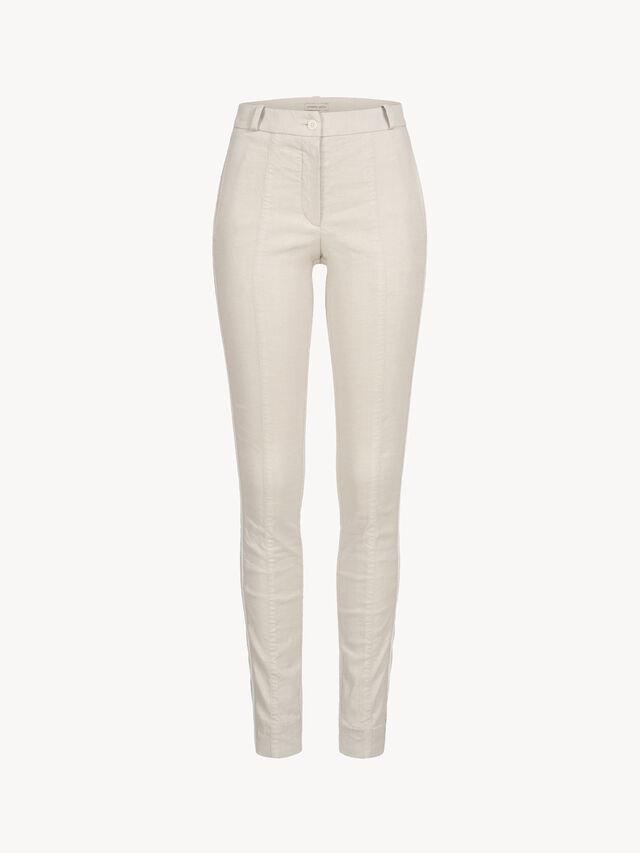 Linen Skinny Trousers