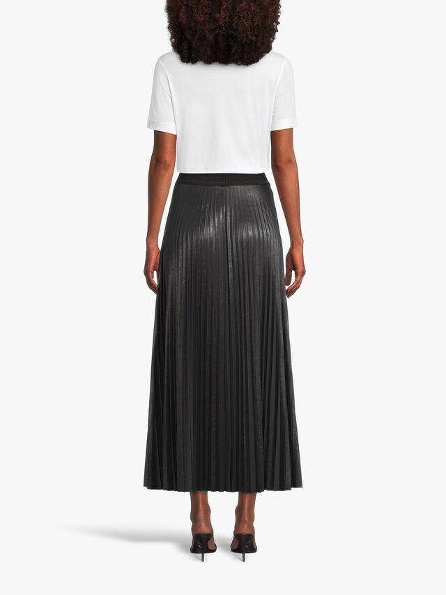 Long Plisse Skirt