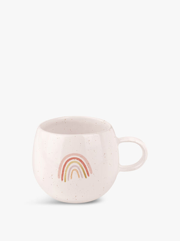 Rainbow Organic Round Mug