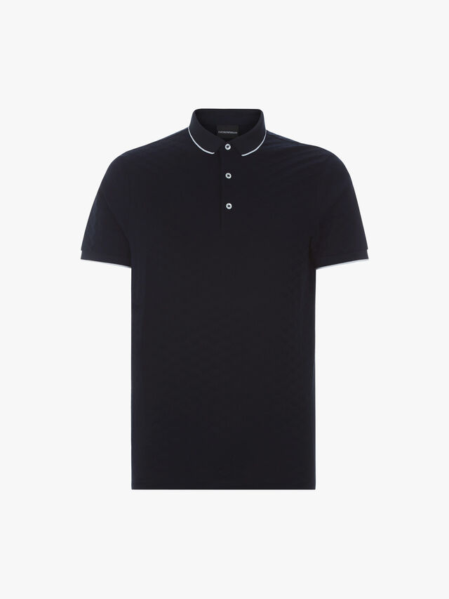 All Over Logo Polo Shirt