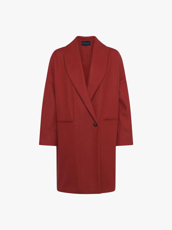 Ricio Platform Cocoon Coat