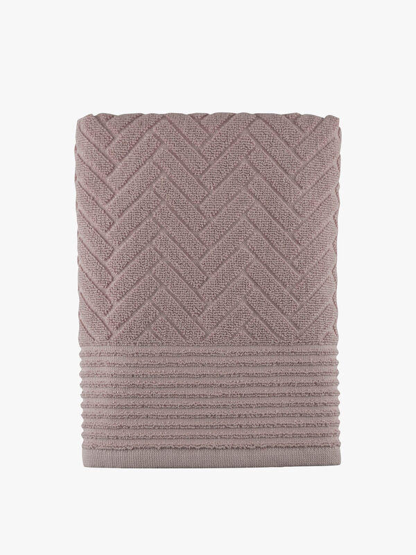 Brick Rose Towel