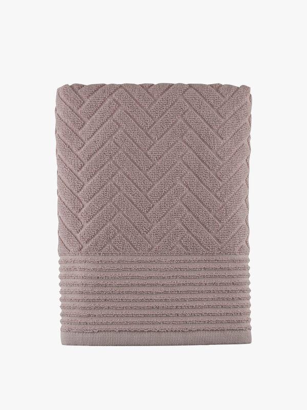 Brick Rose Towel