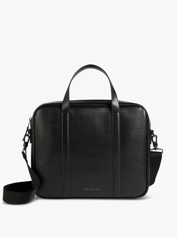 STRATH Saffiano Leather Document Bag