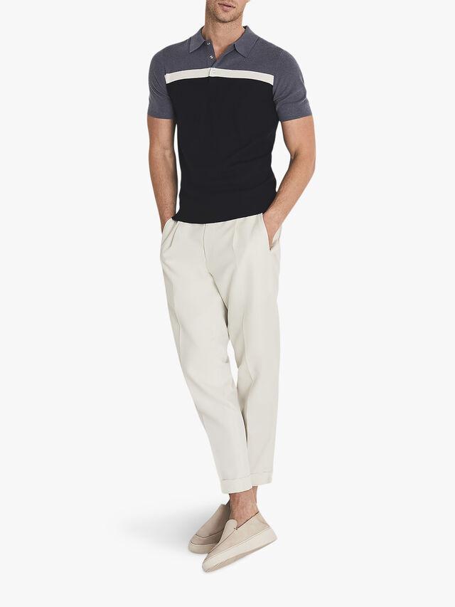 Cairns Colour Block Polo Shirt