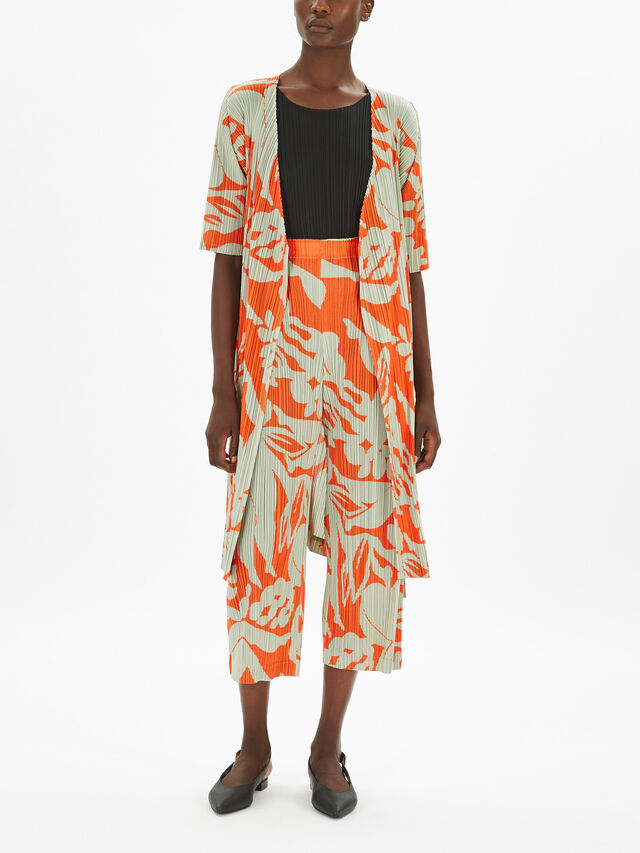 Swimming Print Coat