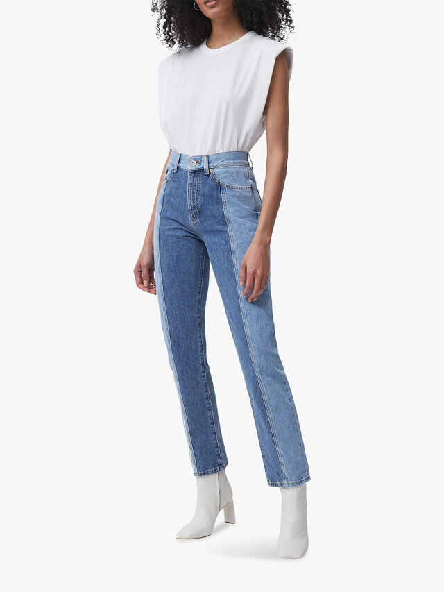 Palmira Two Tone Jeans