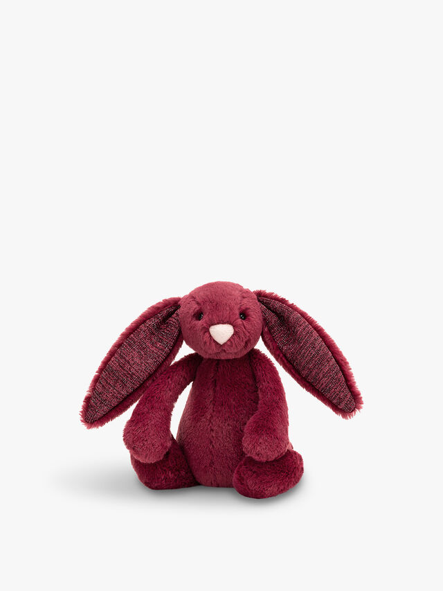 Bashful Small Sparkly Cassis Bunny