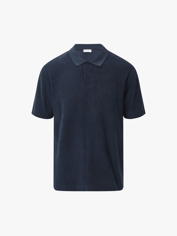 Towelling Polo Shirt