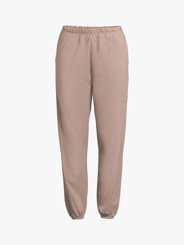 Cotton Slim Leg Bell Hem Sweatpants