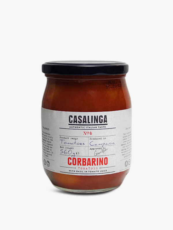 Casalinga Corbarino Tomatoes With Basil  560g